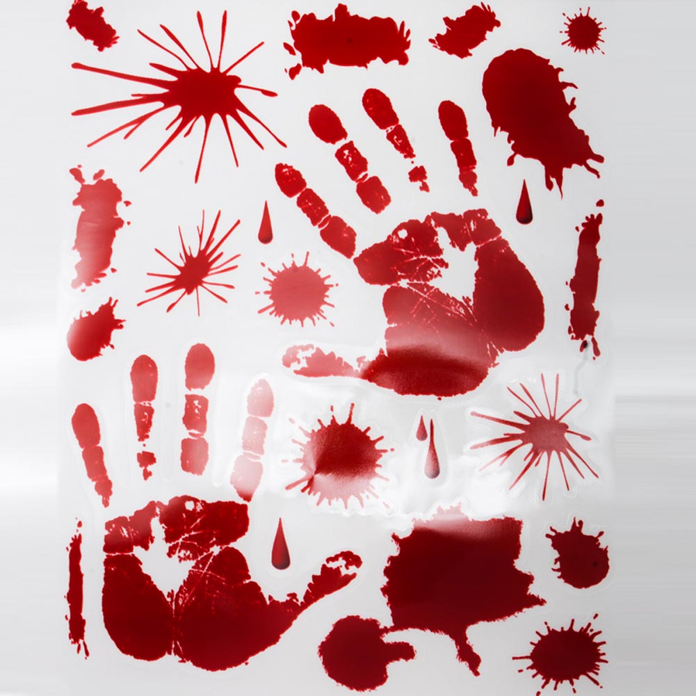 Bloody Handprint Clings 014-01035