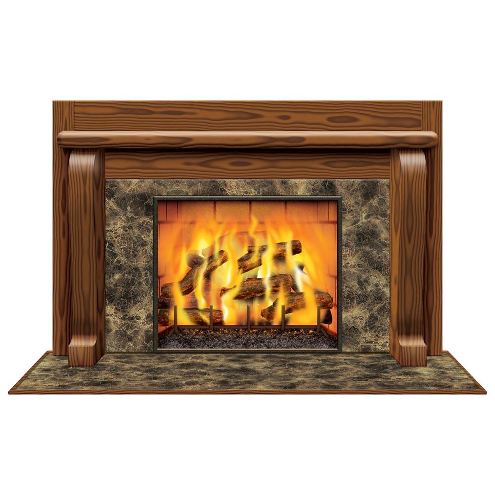 Fireplace Mural 014-20193