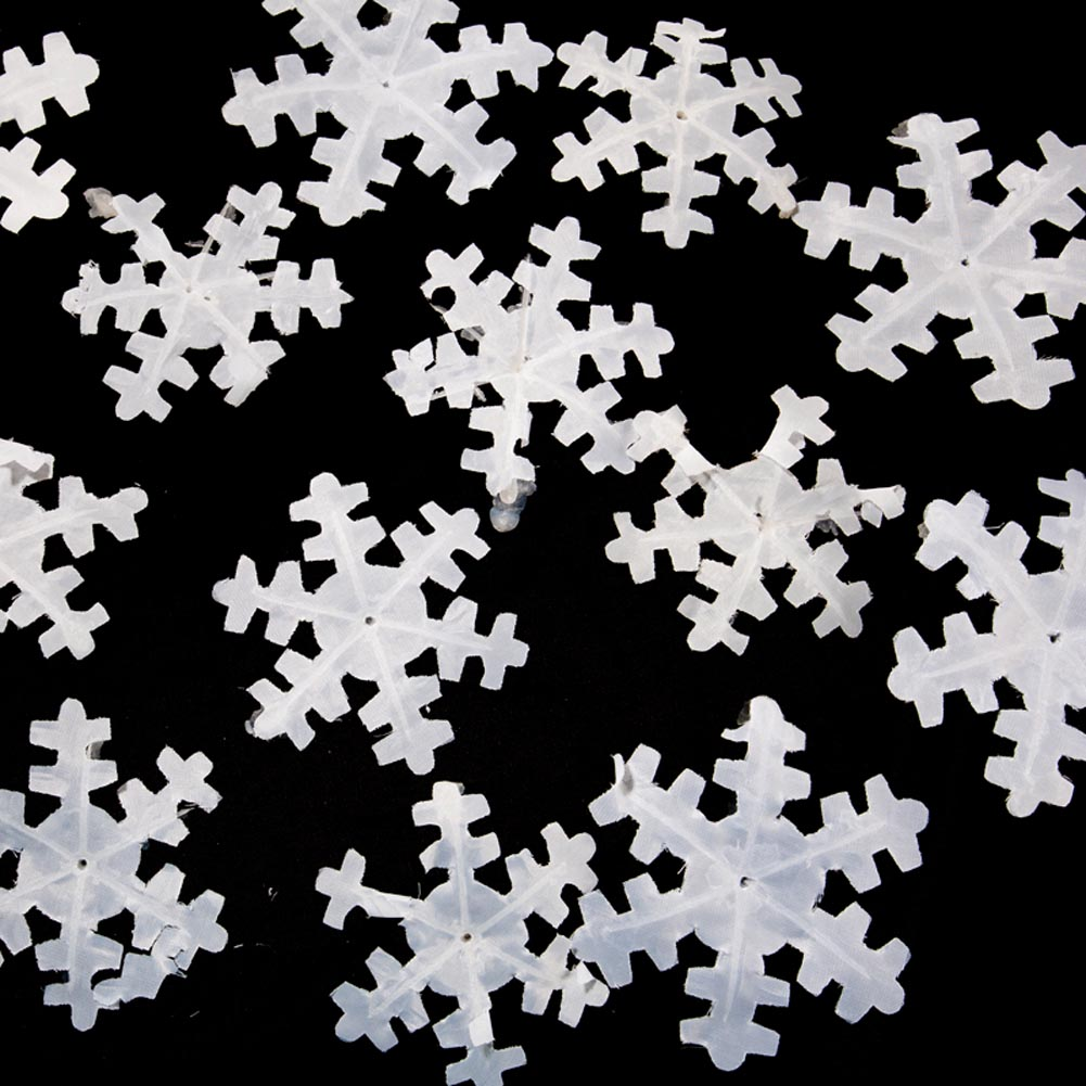 Winter White Snowflakes 014-20849