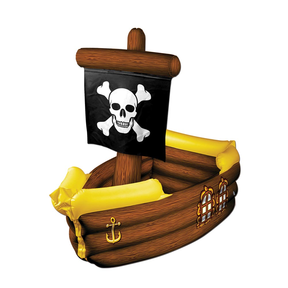 Pirate Ship Cooler Inflate