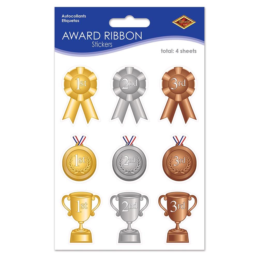 Award Ribbon Stickers 014-52141