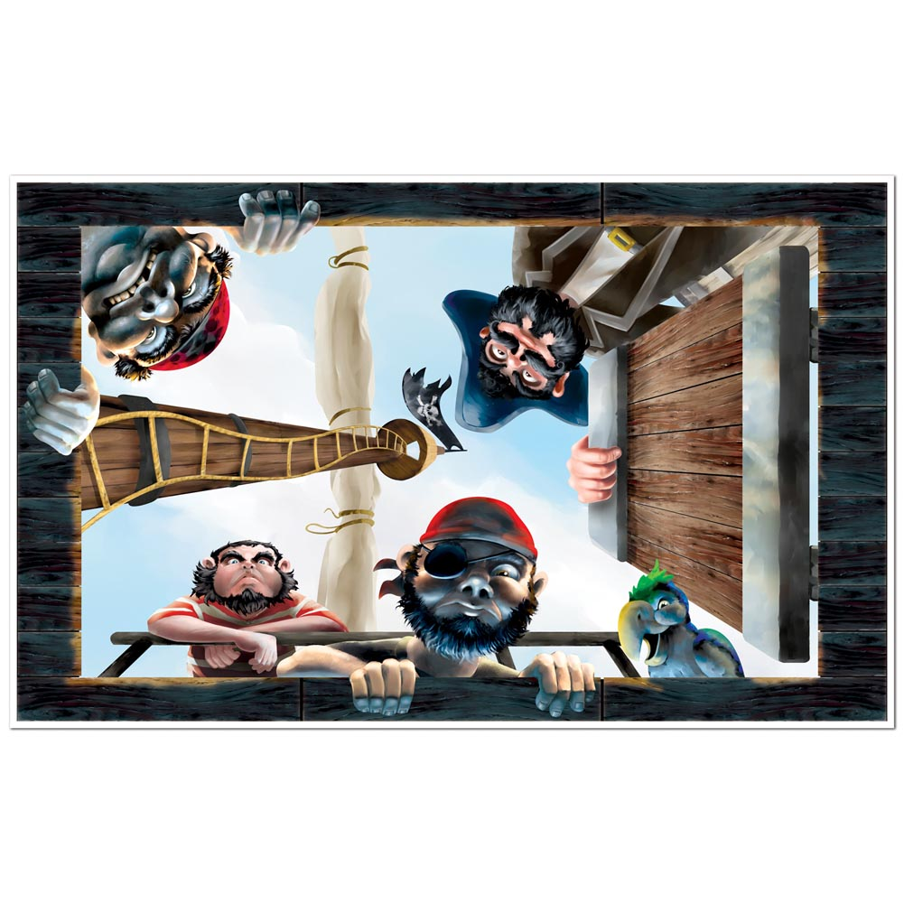 Pirate Ceiling Mural