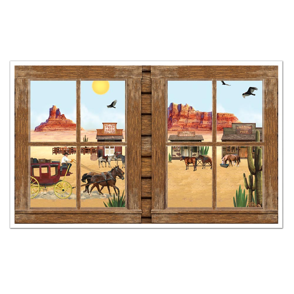 Western Windows Mural