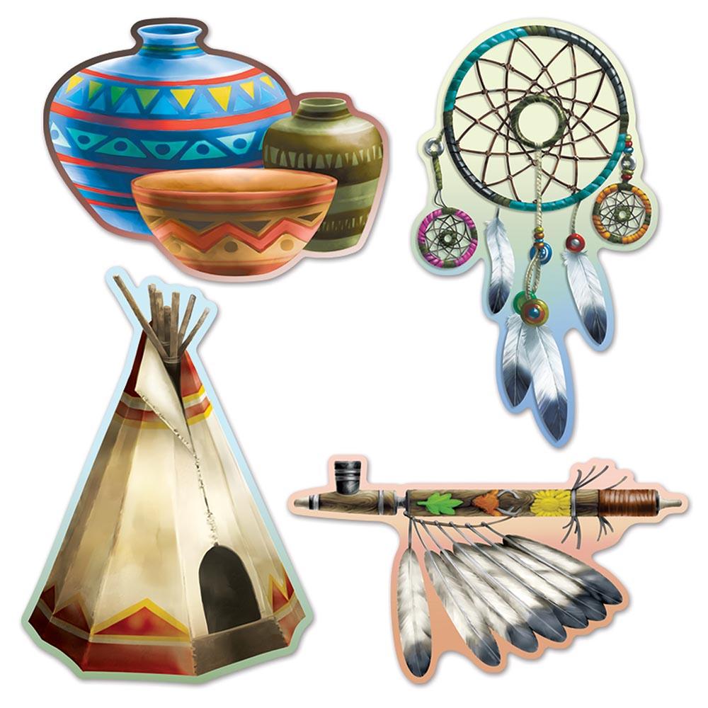 Native American Cutouts | eBay
