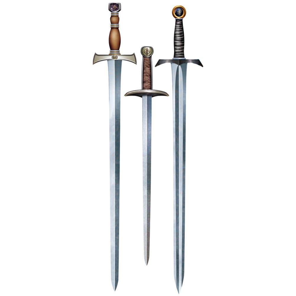 Medieval Sword Cutout