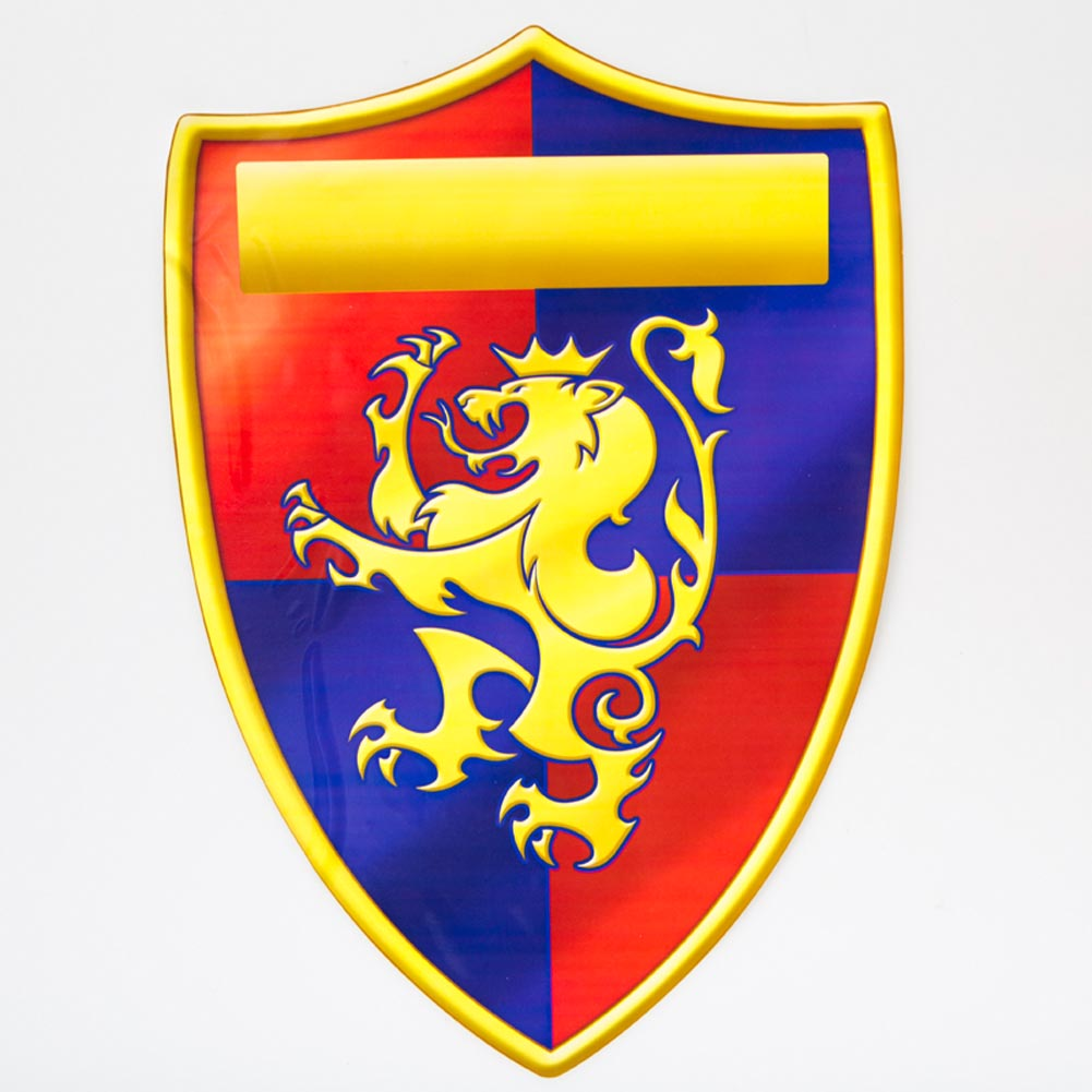 Medieval Crest Cling