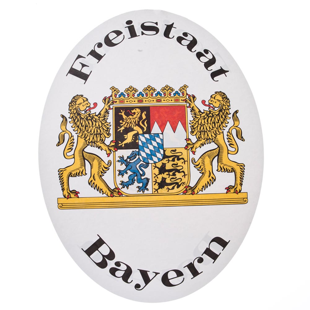 Bavarian Sign Cutout 014-54861