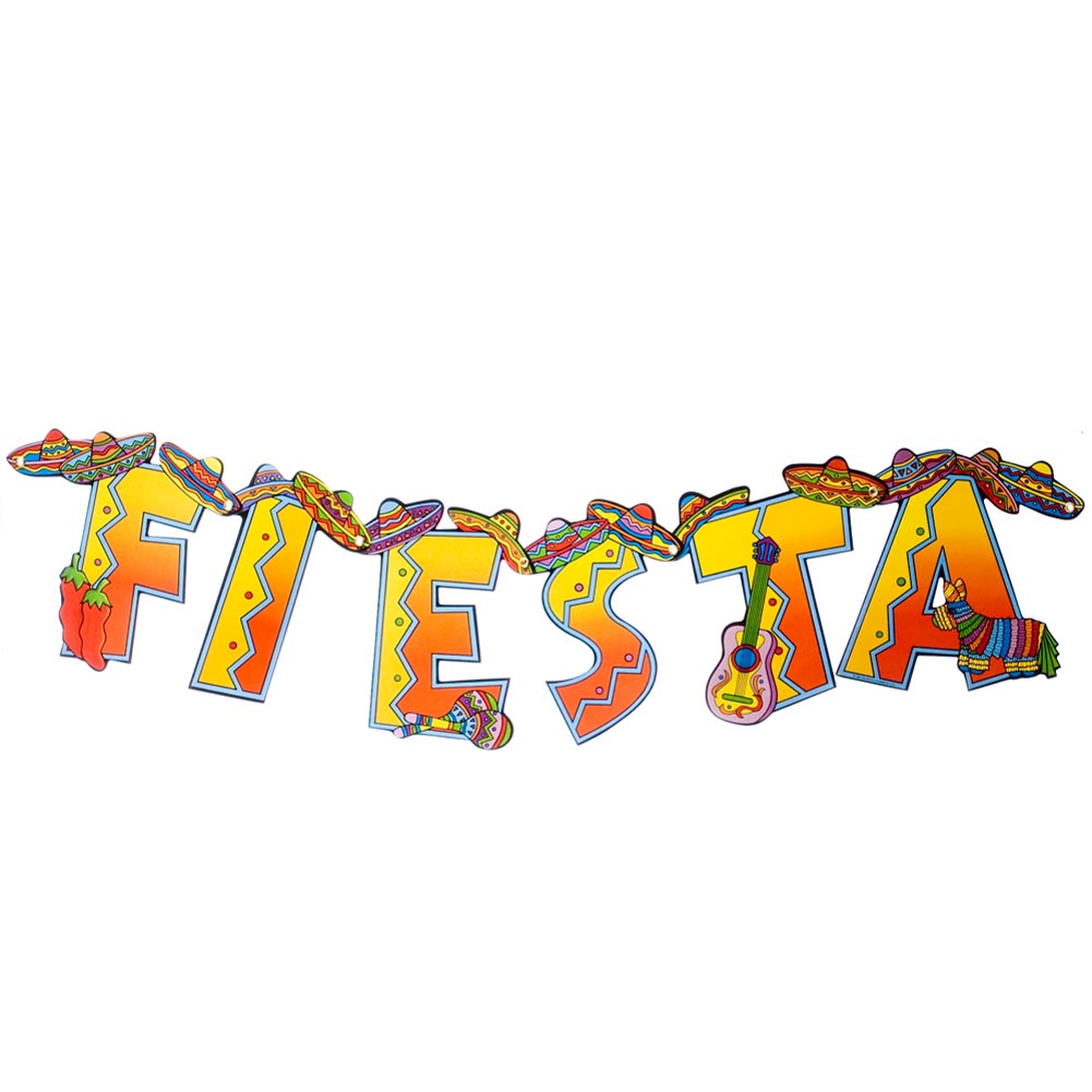Fiesta Jointed Banner 014-55681