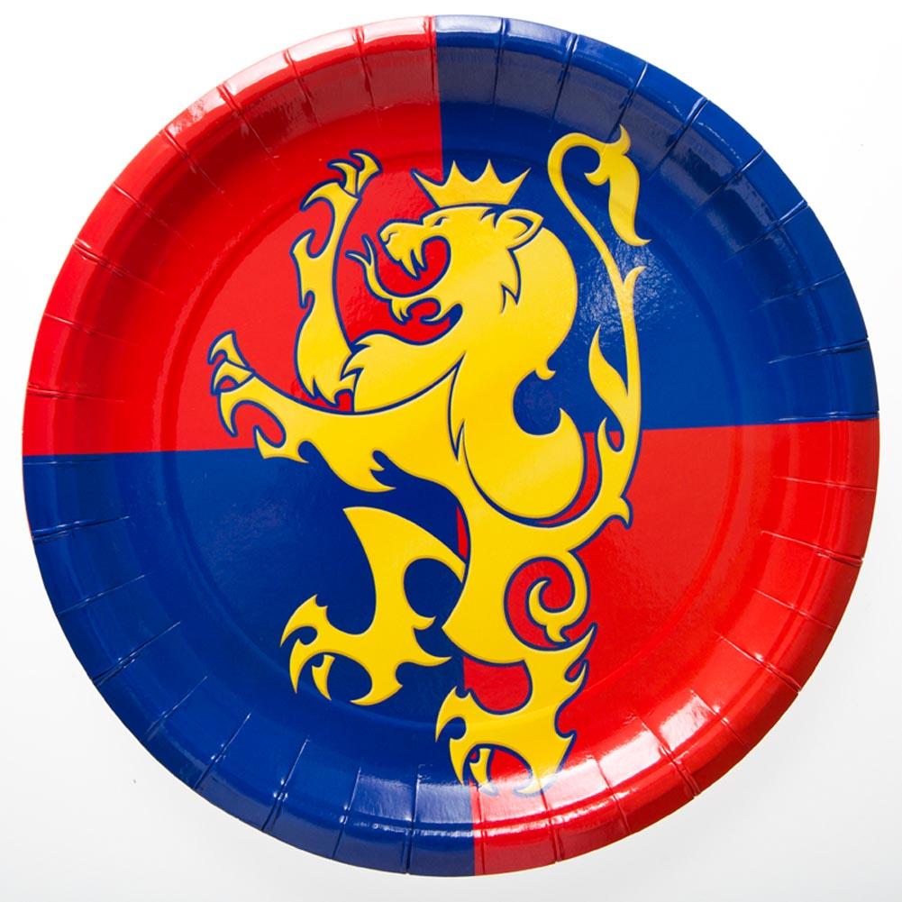 "Medieval 9"" Plates"