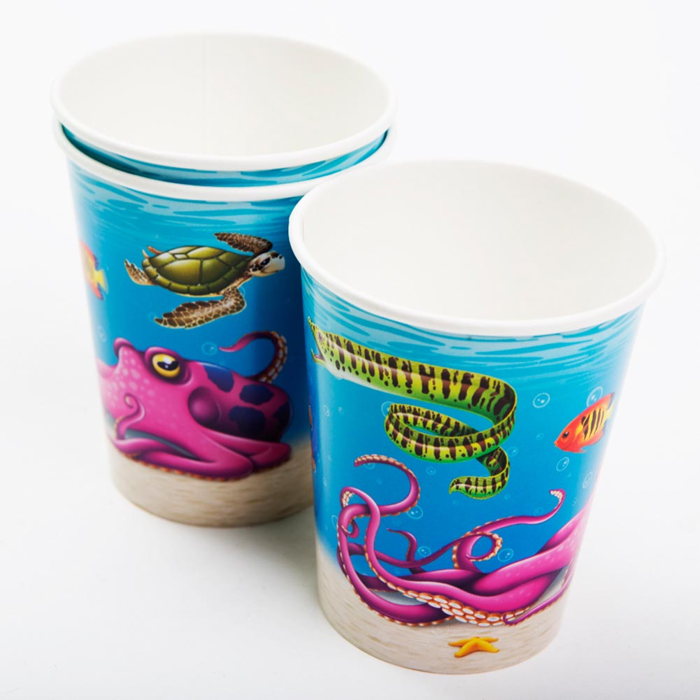 Under The Sea 9 oz. Cups 014-58208