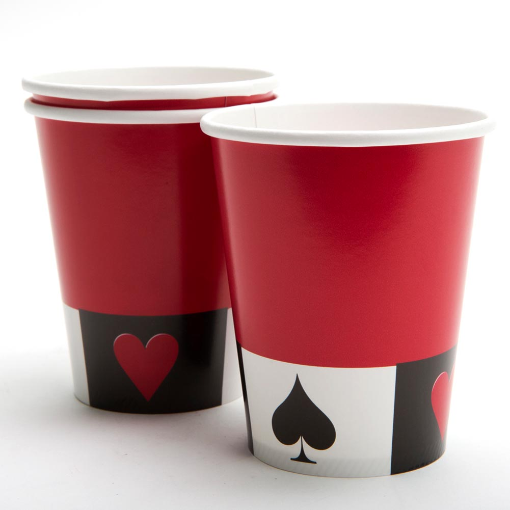 Card Night 9 oz. Cups 039-024