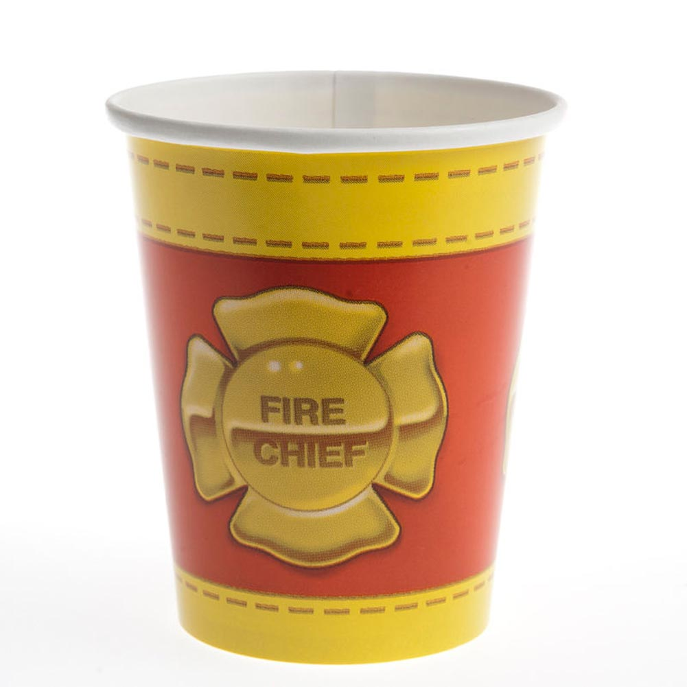 Firefighter 9 oz. Cups