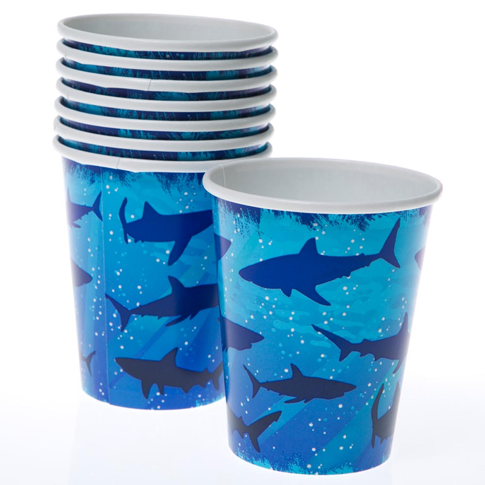 Shark Splash 9 oz. Cups 039-204