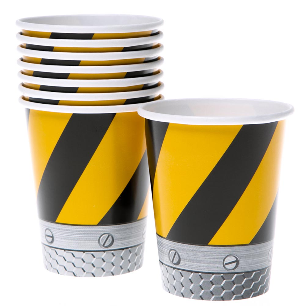 Construction Zone 9 oz. Cups 039-218