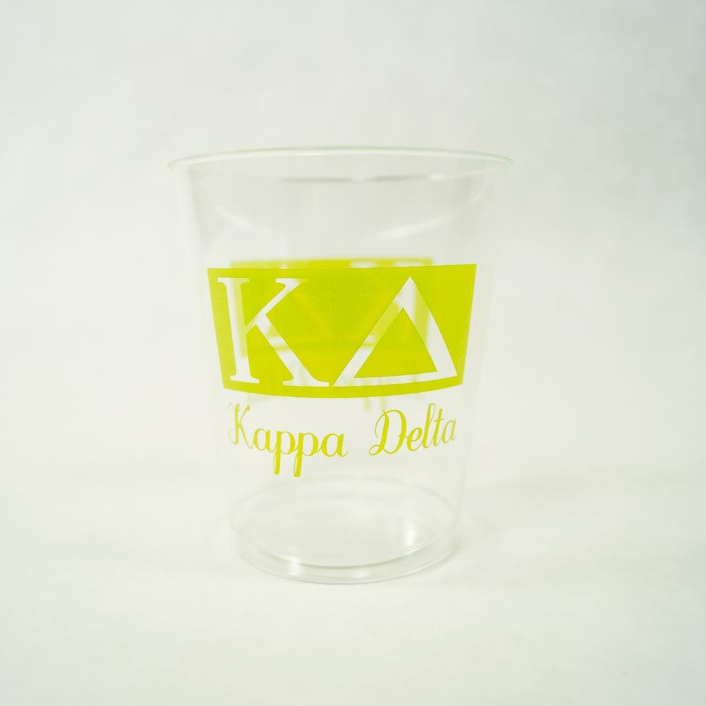 Kappa Delta 10 oz. Plastic Tumbler Cups 039-272