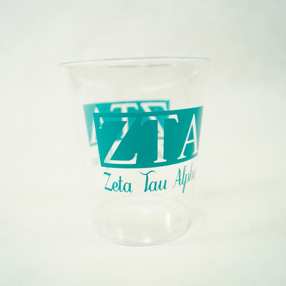 Zeta Tau Alpha 10 oz. Plastic Tumbler Cups 039-278