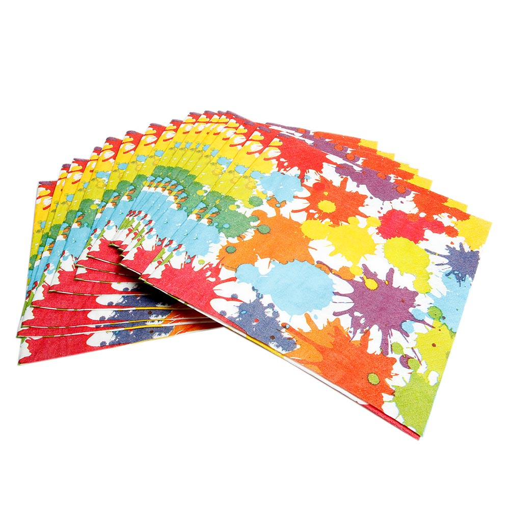 Art Party Beverage Napkins