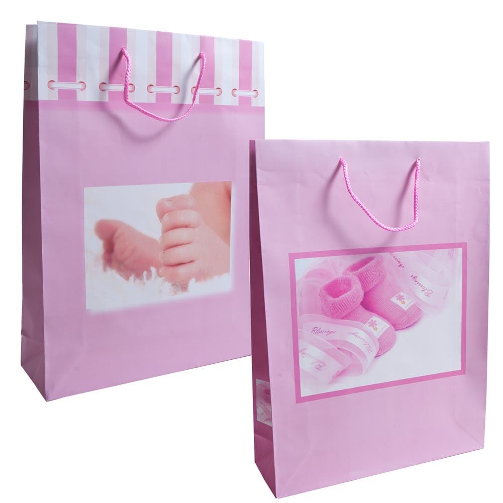 Girl Baby Shower Gift Bag