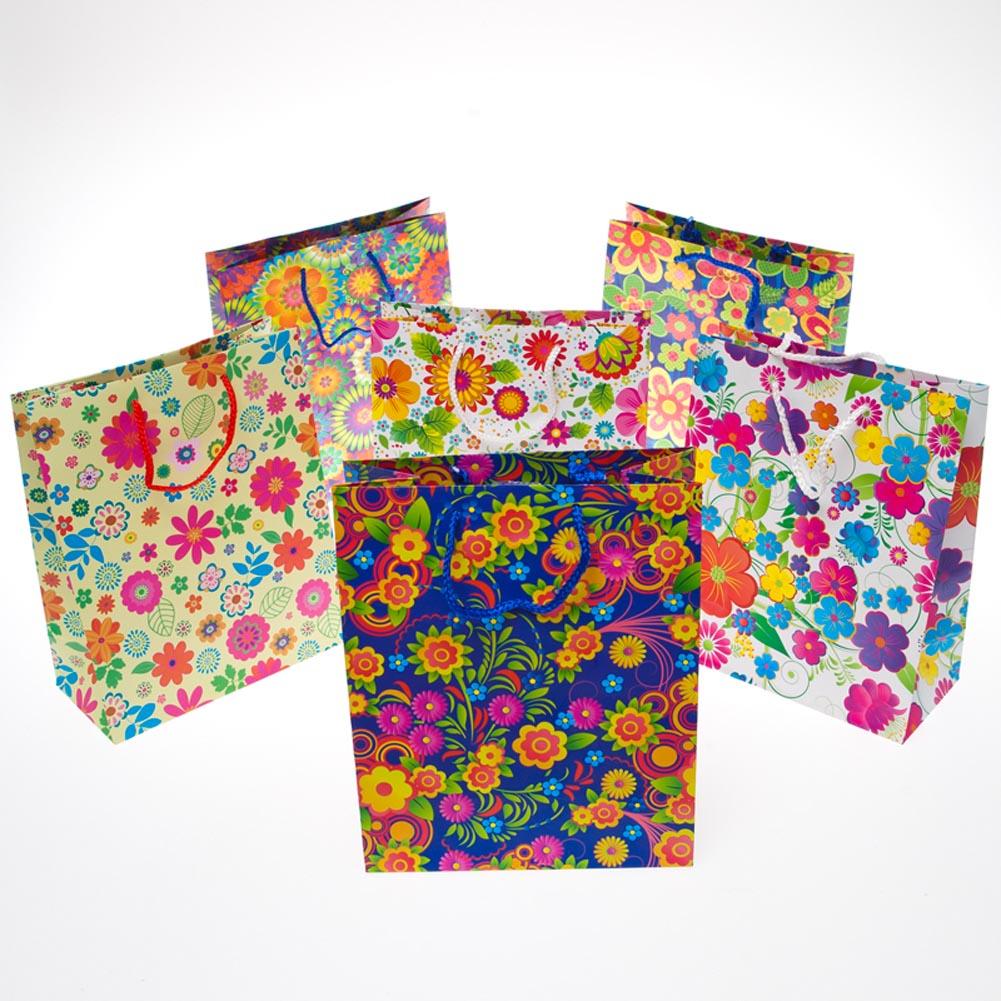 Medium Floral Gift Bags