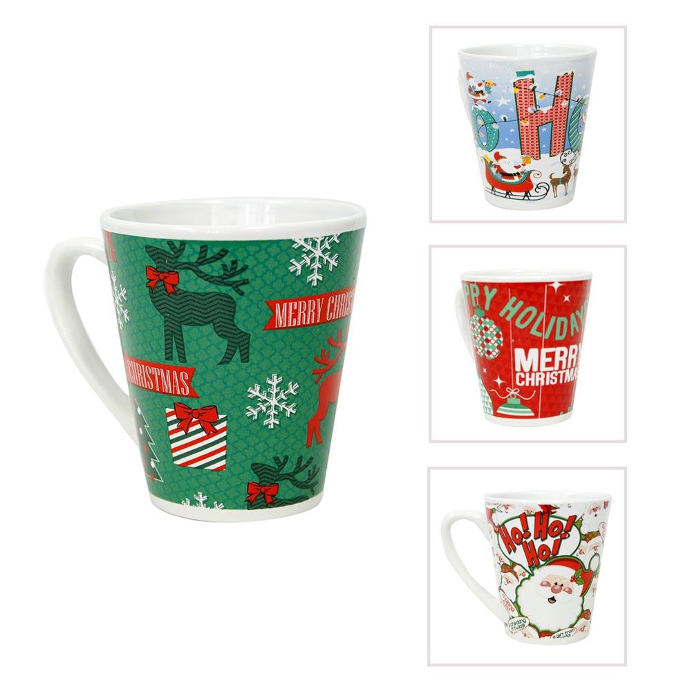 Christmas 12 oz Coffee Mugs 084-104
