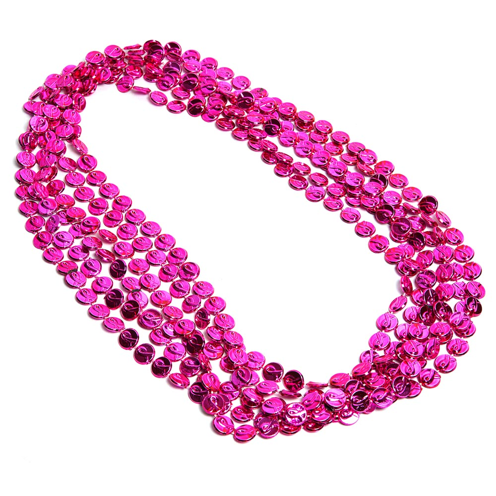 Breast Cancer Awareness Bead Necklaces 086-291