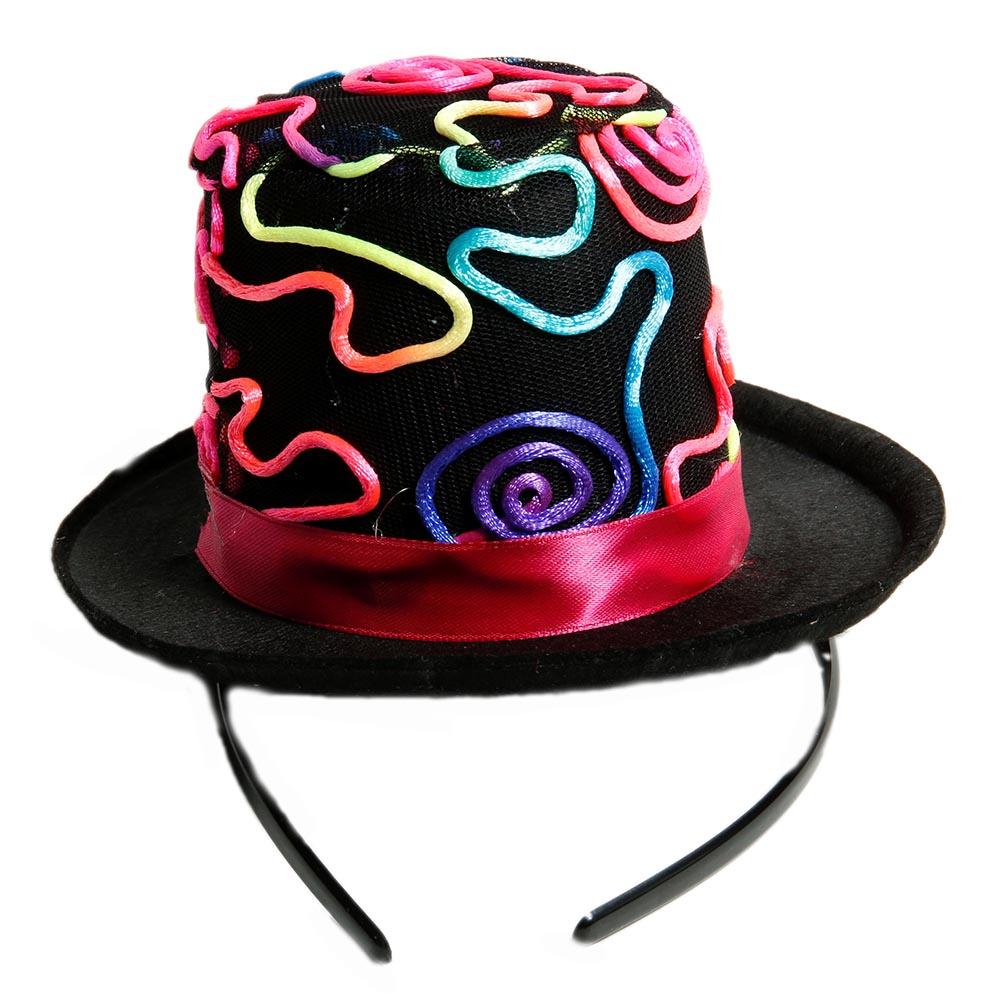 Graffiti Top Hat Fascinator 092-230