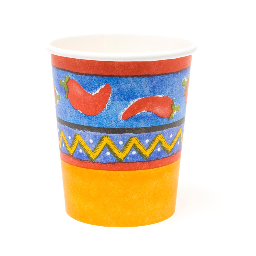 Dancing Chilis 7 oz. Cups 093-071