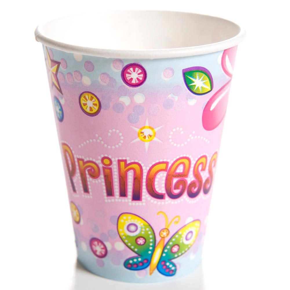 Birthday Princess 9 oz. Cups 093-328