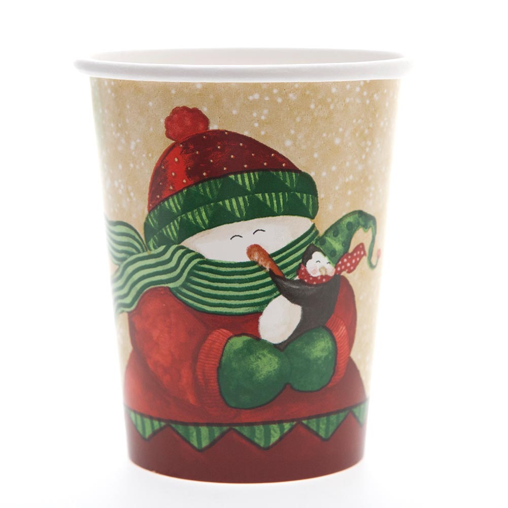 Winter Friends 9 oz. Cups 093-363