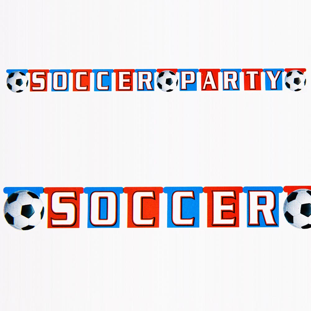 Soccer Party Jointed Banner