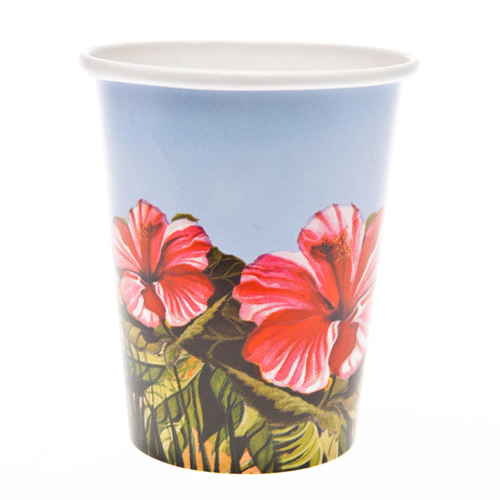 Tropical Paradise 9 oz. Cups 093-464