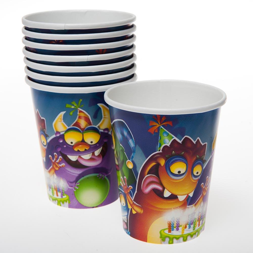 Birthday Monster 9 oz. Cups 093-569