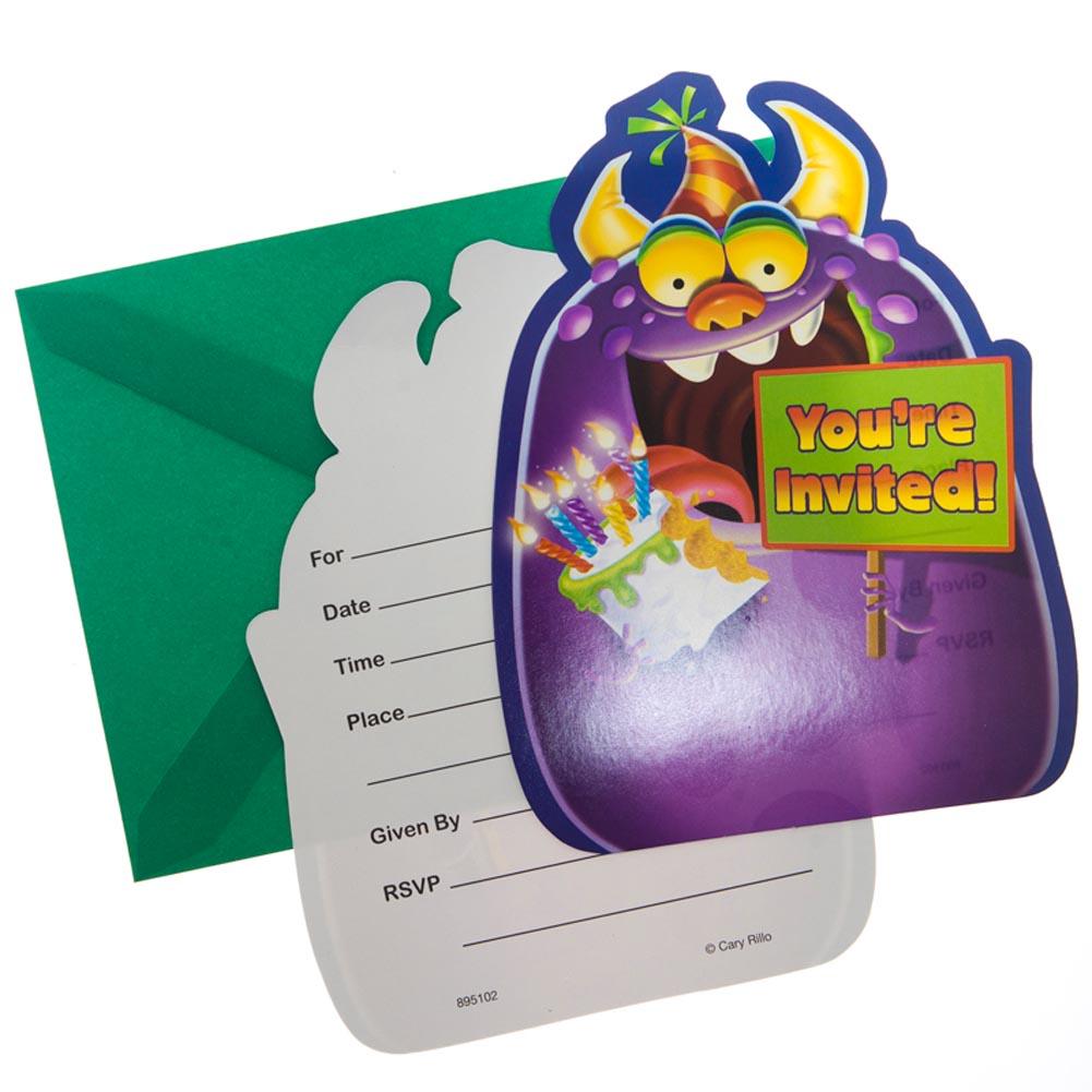 Birthday Monster Invitations 093-575