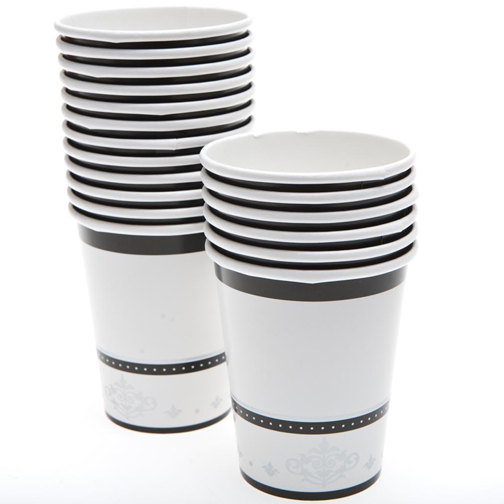 Silver Anniversary 9 oz. Cups 093-600