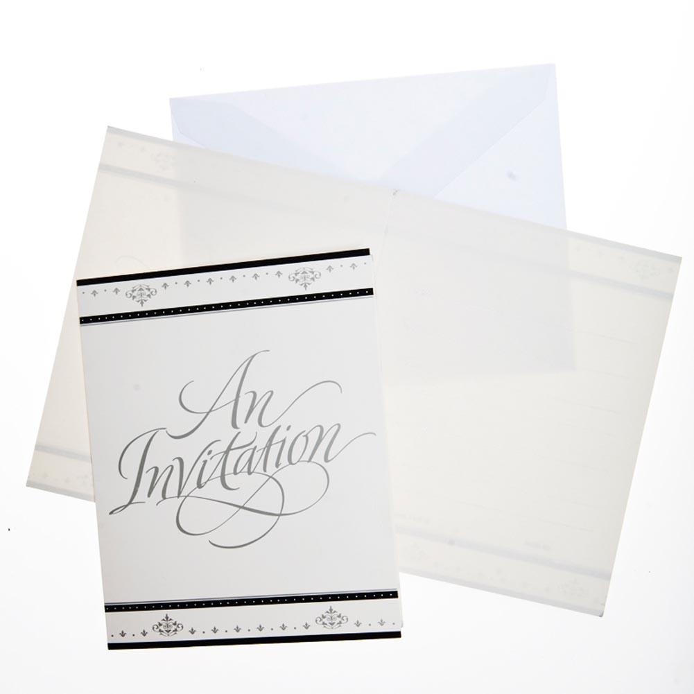 Silver Anniversary Invitations 093-602