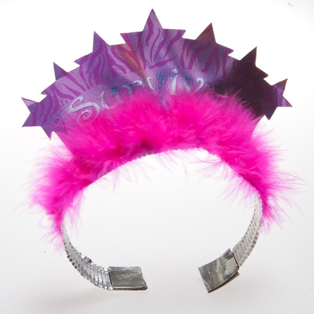 """Pink Ribbon """"""""Survivor"""""""" Tiara"""" 093-618"""