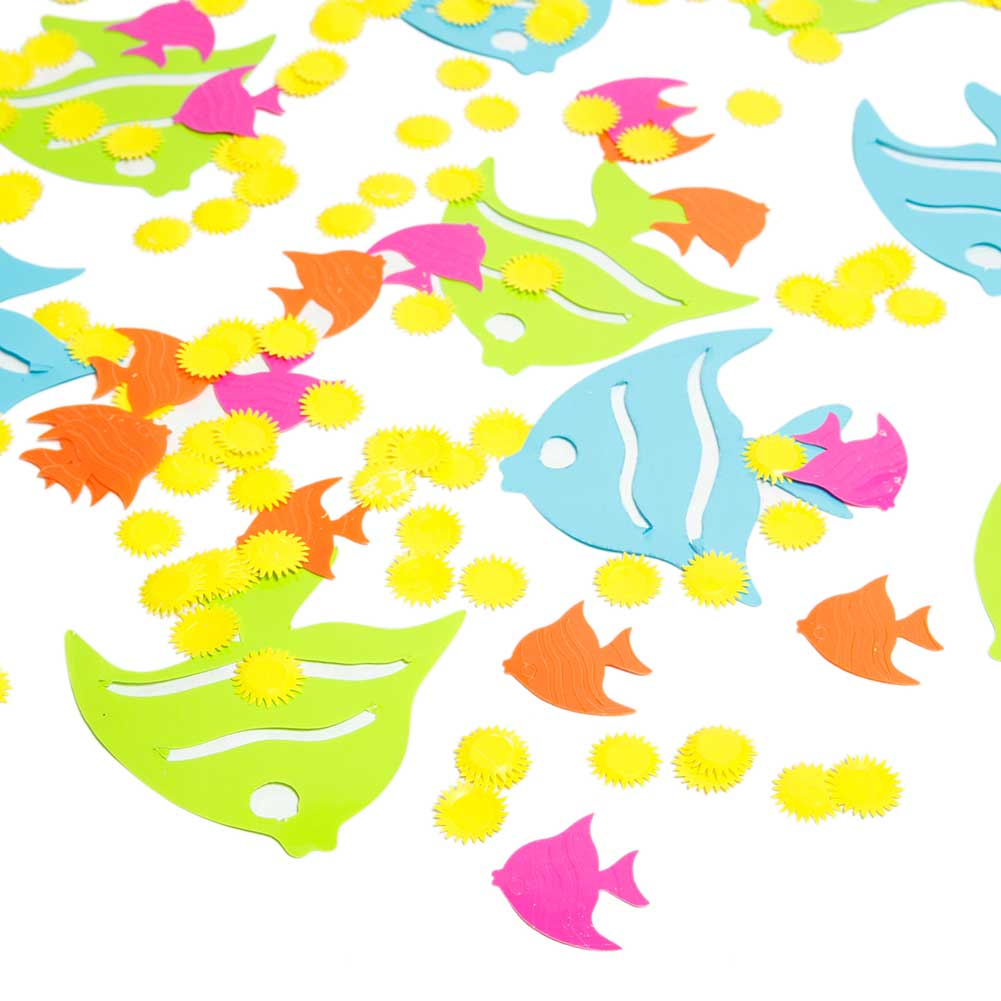 Assorted Tropical Fish Confetti