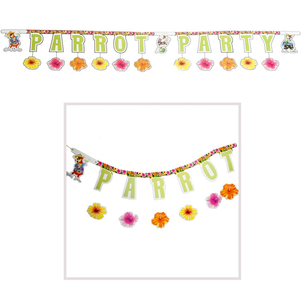 Parrot Party Jointed Banner 093-792