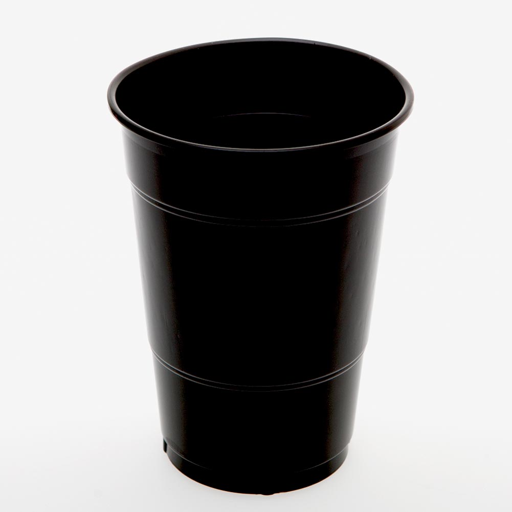 Black 16 oz. Plastic Cups 094-054