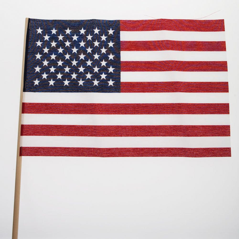 "Made In USA 8"""" x 12"""" Cloth Flags (12 pack)"" 098-003"