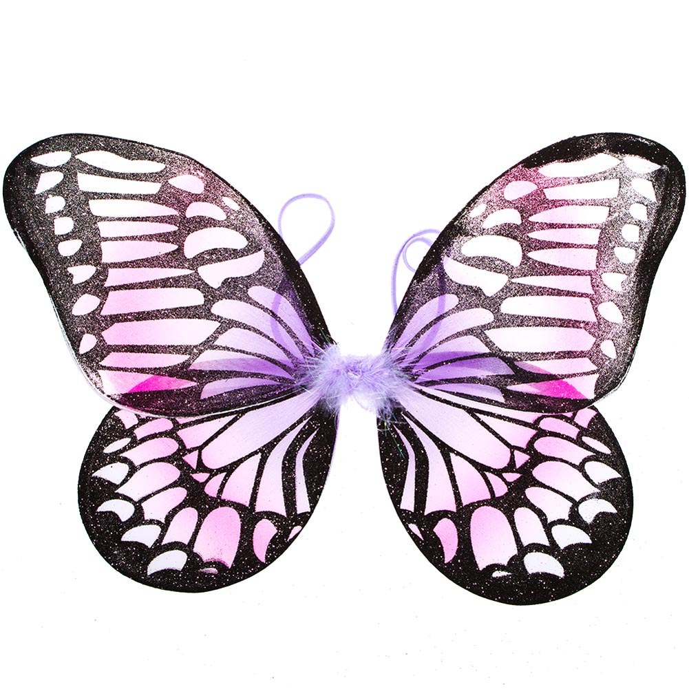 Pink and Purple Monarch Butterfly Wings 102-092