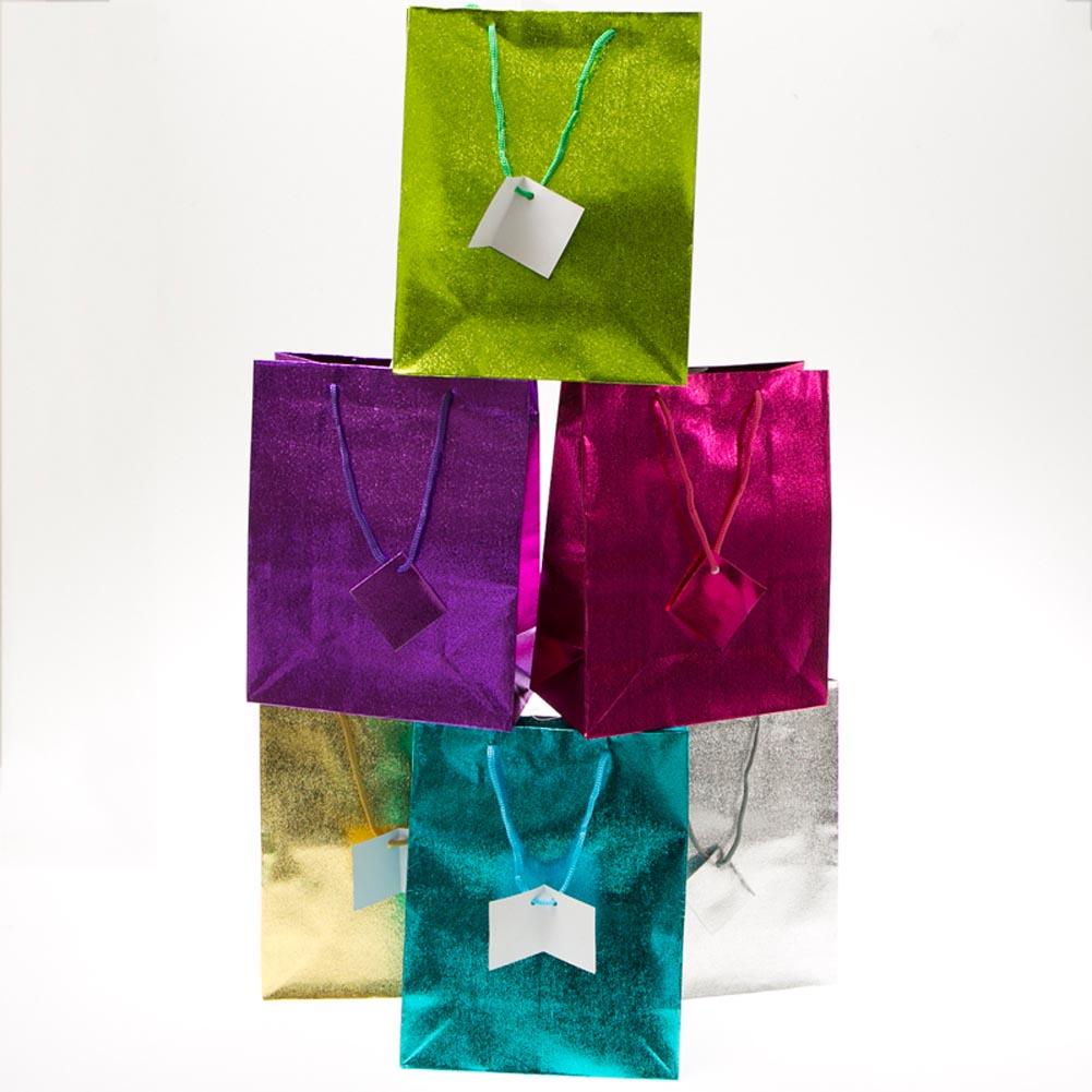 Medium Metallic Gift Bags