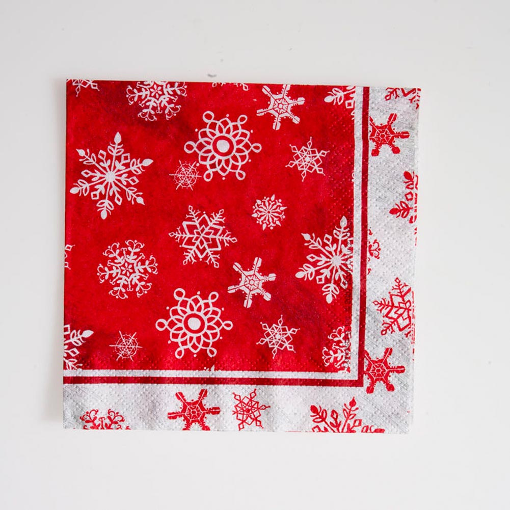Snowflake Lunch Napkins