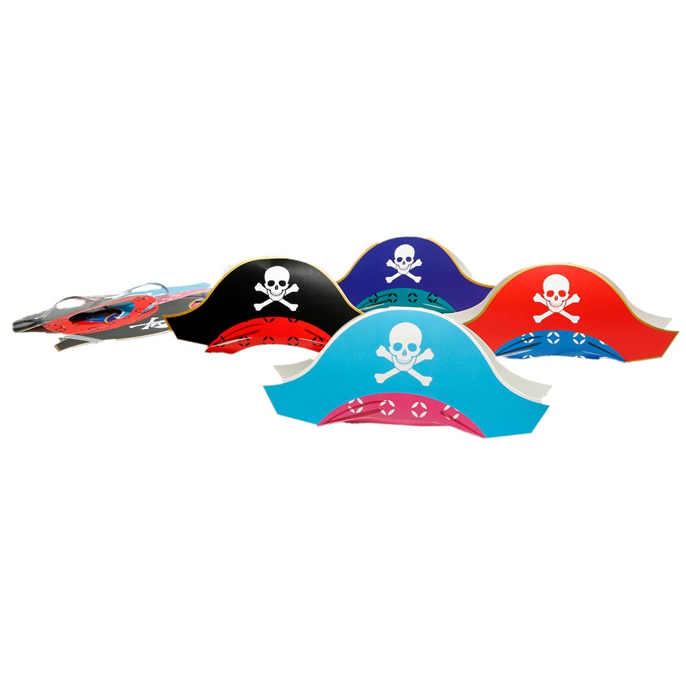 Mini Pirate Party Hats