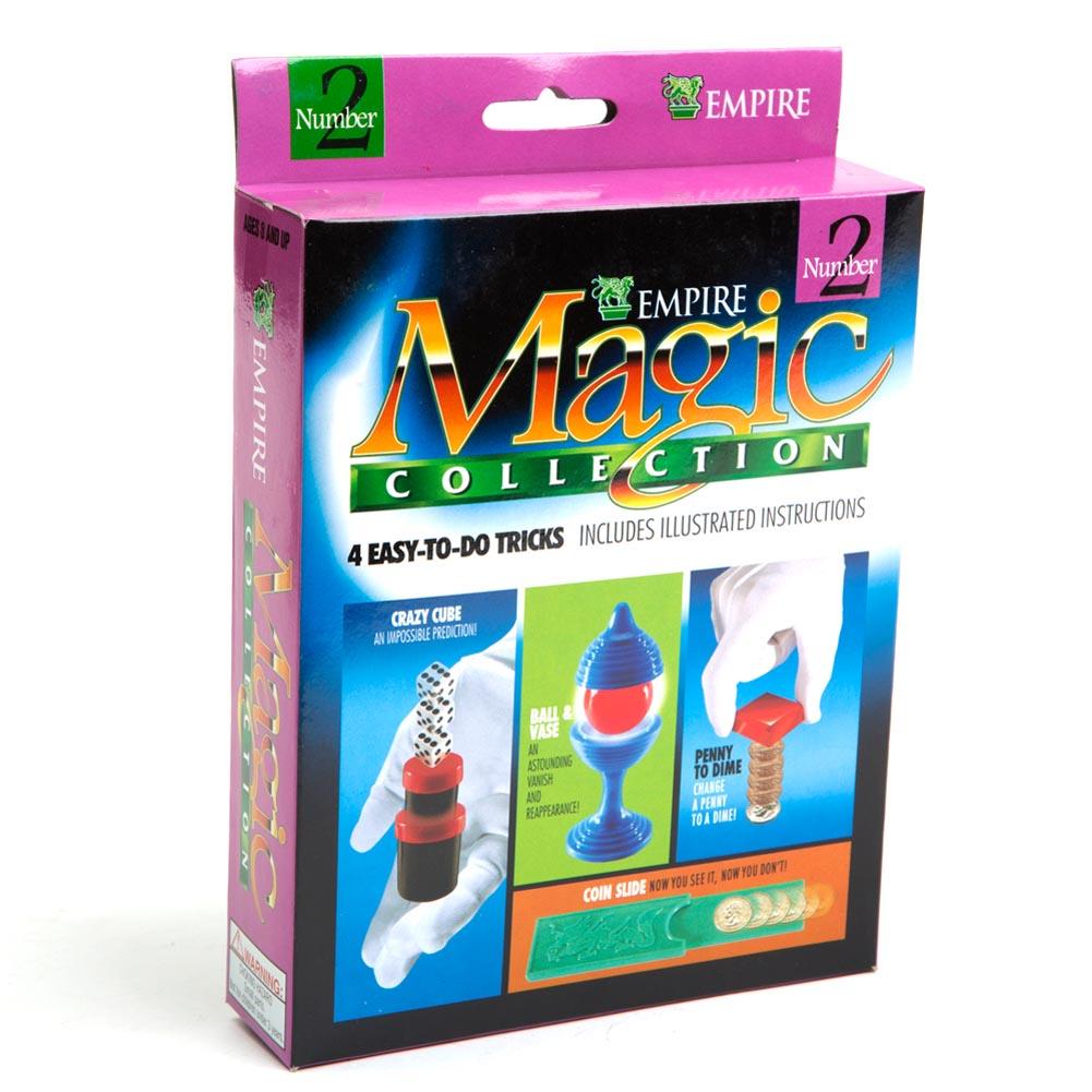 Coin Slide, Crazy Cube & More Magic