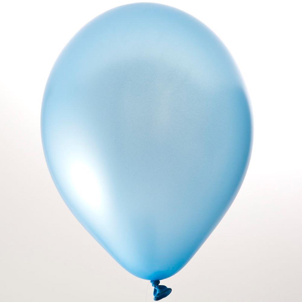"Sky Blue Balloons - 11"""
