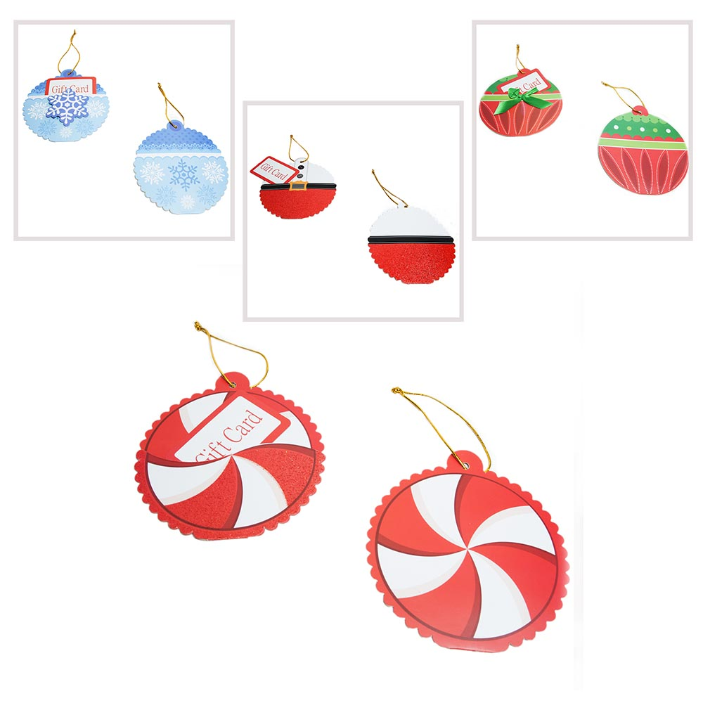 Christmas Gift Card Holder Ornaments