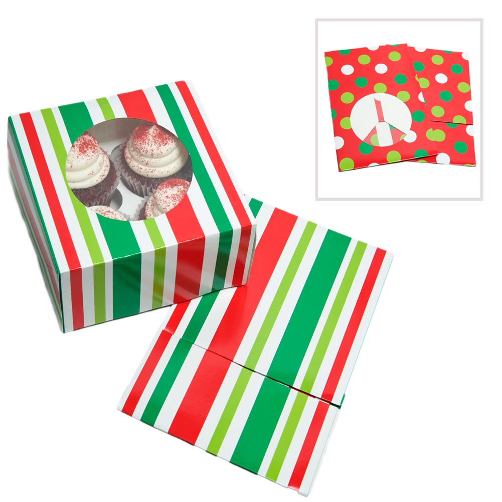 Holiday Cookie / Cupcake Boxes