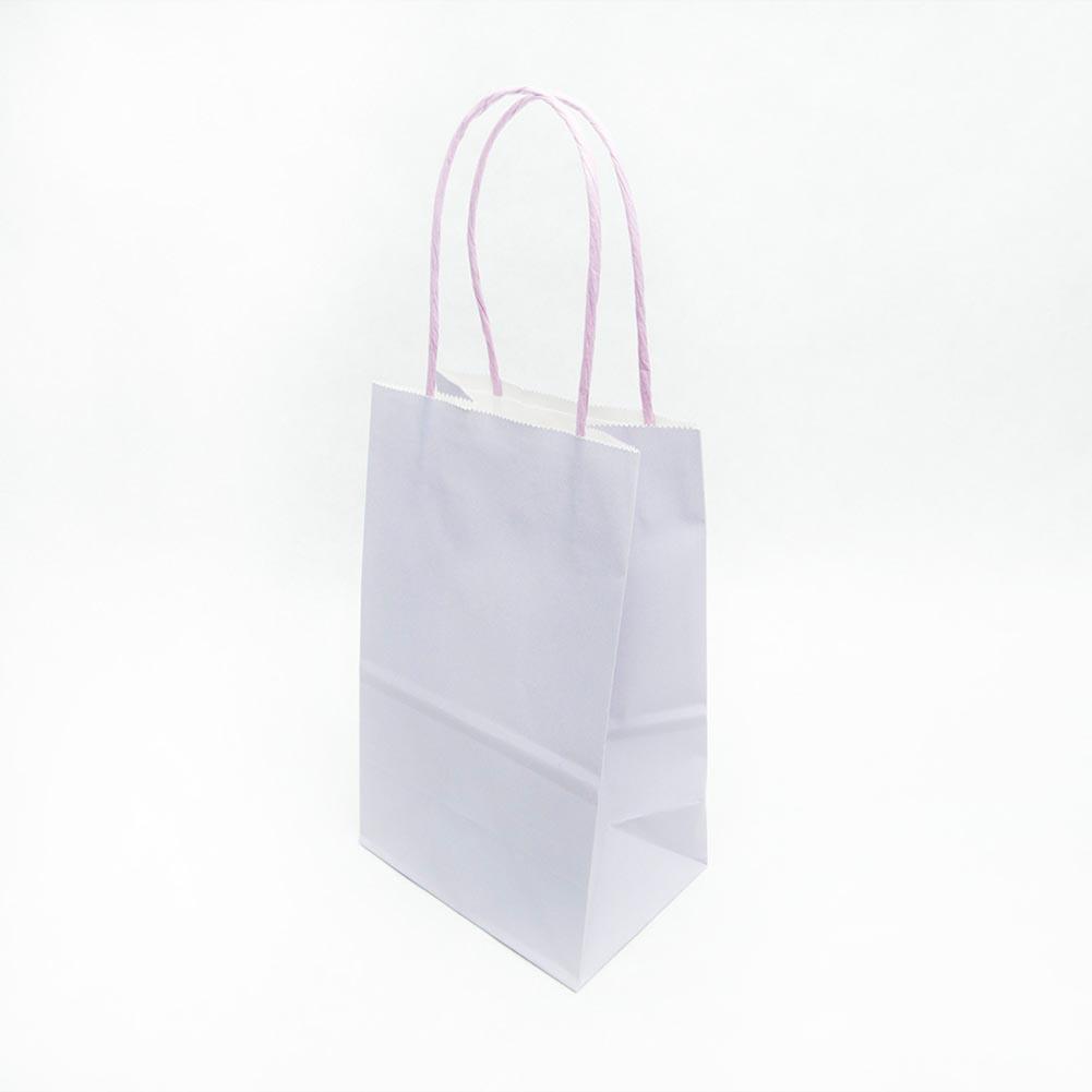 Small Lavender Kraft Gift Bags
