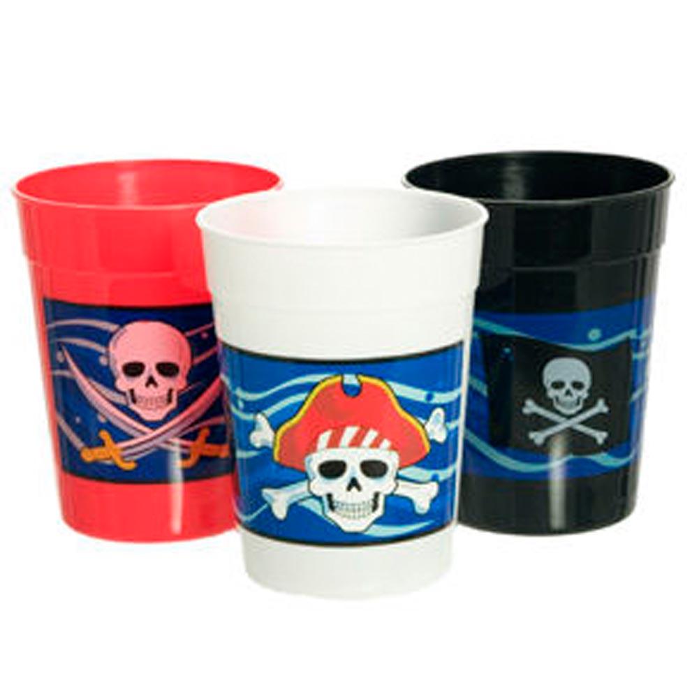 Pirate 10 oz. Plastic Cups 146-098